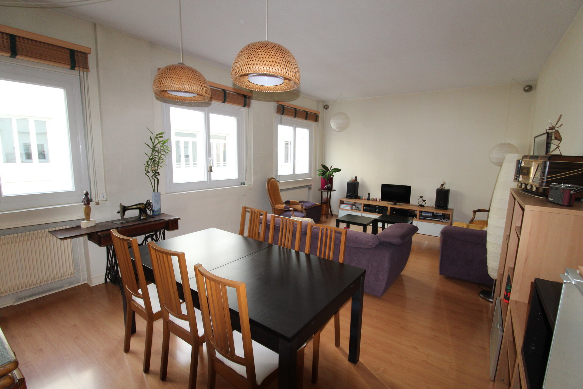 Appartement Duplex Saint-Etienne / Hyper-Centre 4 pièces 99,01m2 avec garage