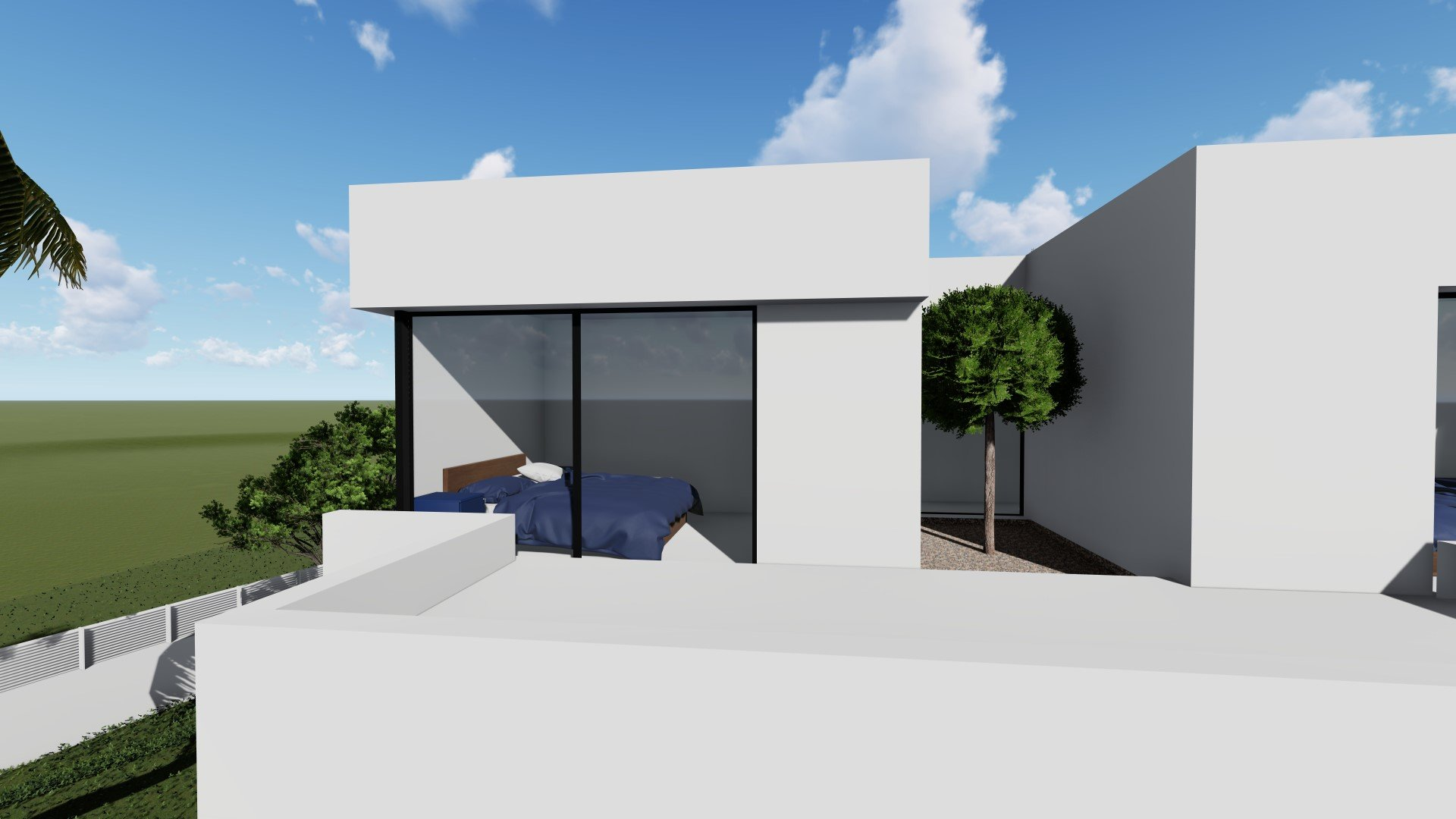 New build with pool close to Calpe Centre