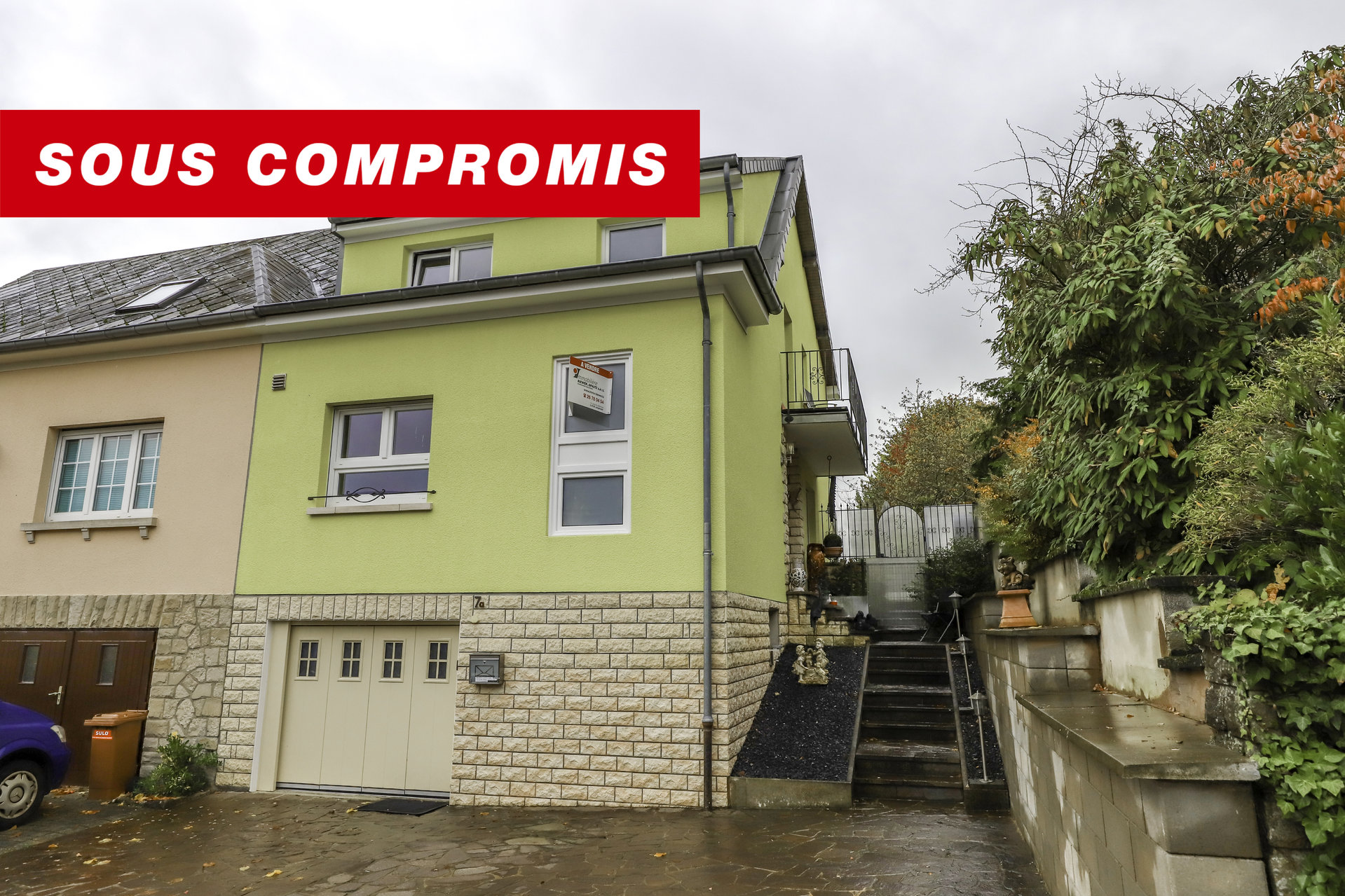 SALES AGREEMENT - house with 3 bedrooms in Junglinster