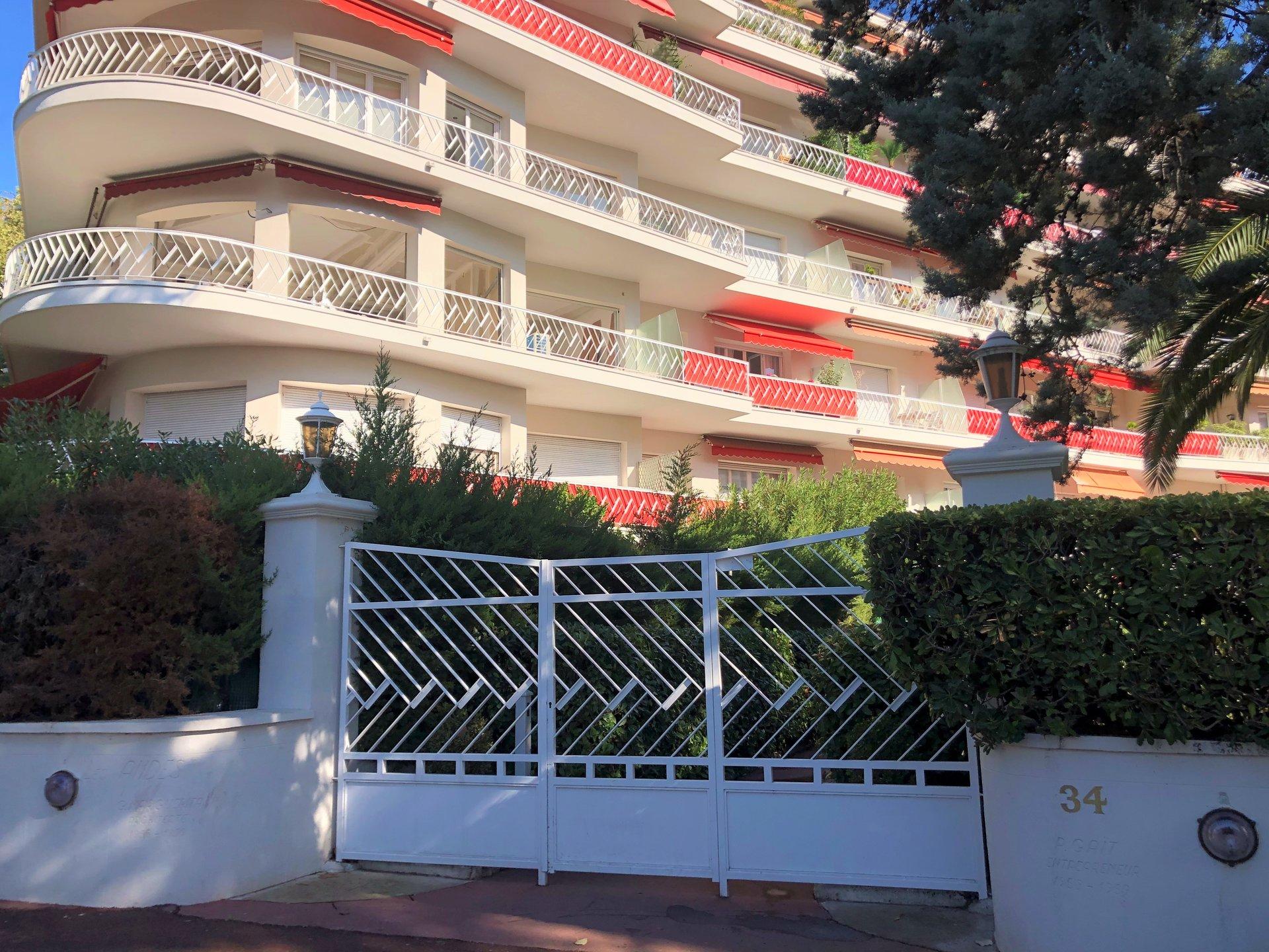 2 pièces Rénové - 34 boulevard de Cimiez