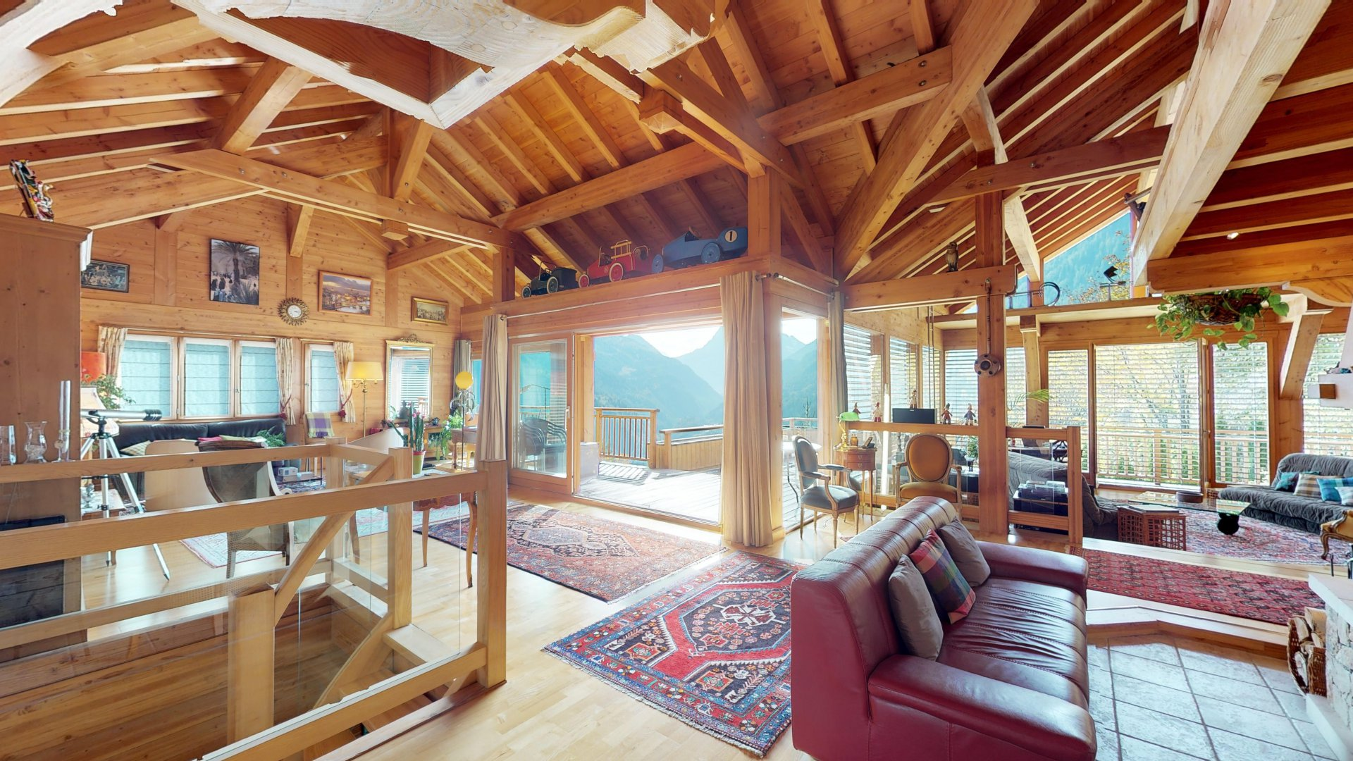 5 bedroom chalet with indoor pool, Finhaut, Valais