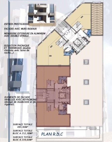 Immeuble de bureau 3150 m² au Lac 1