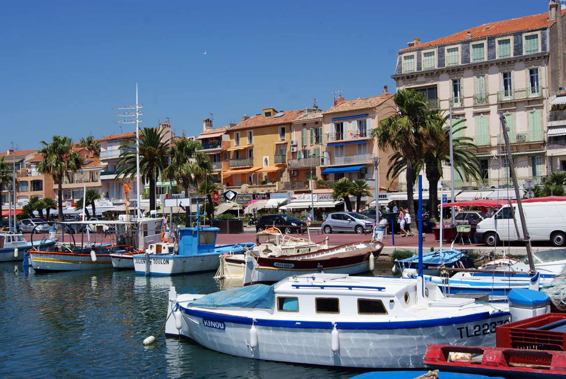 Bandol Harbor