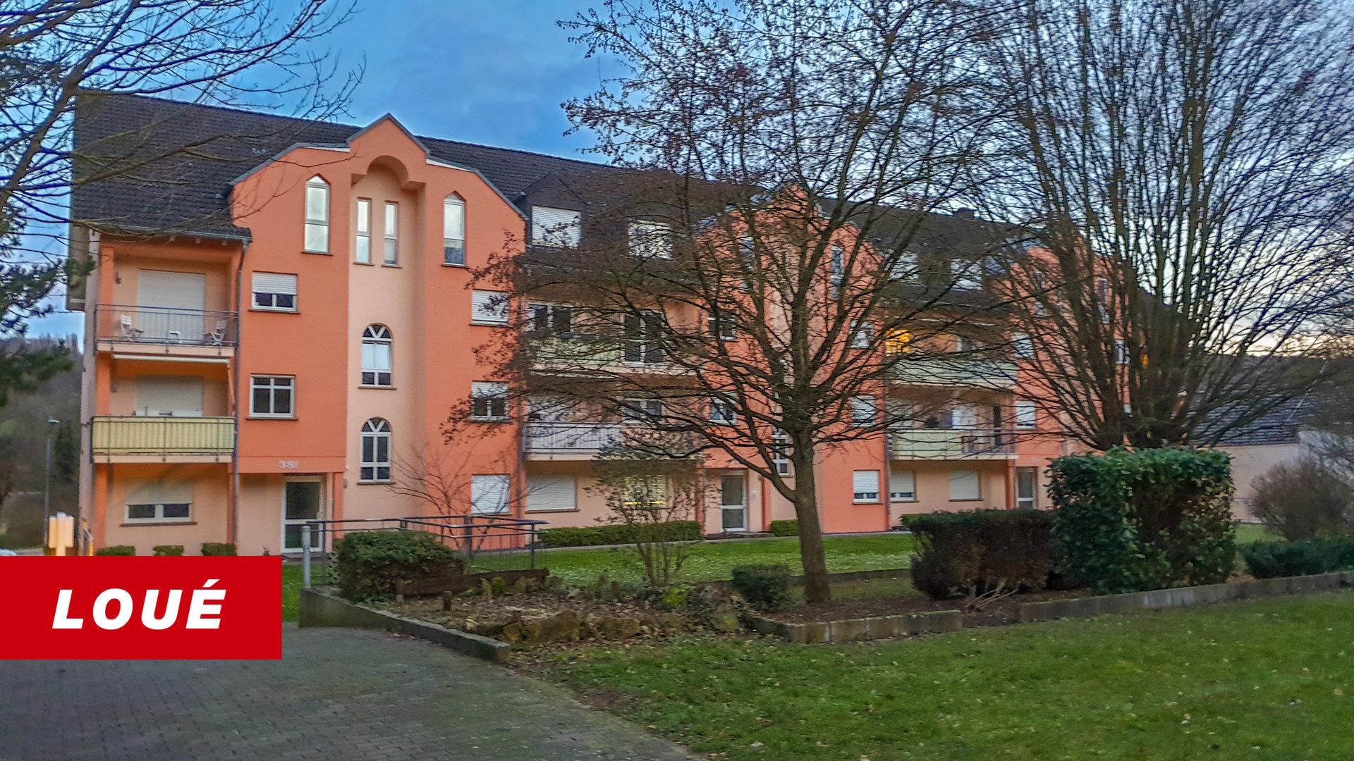 RENTED - duplex with 2 bedrooms in Grevenmacher