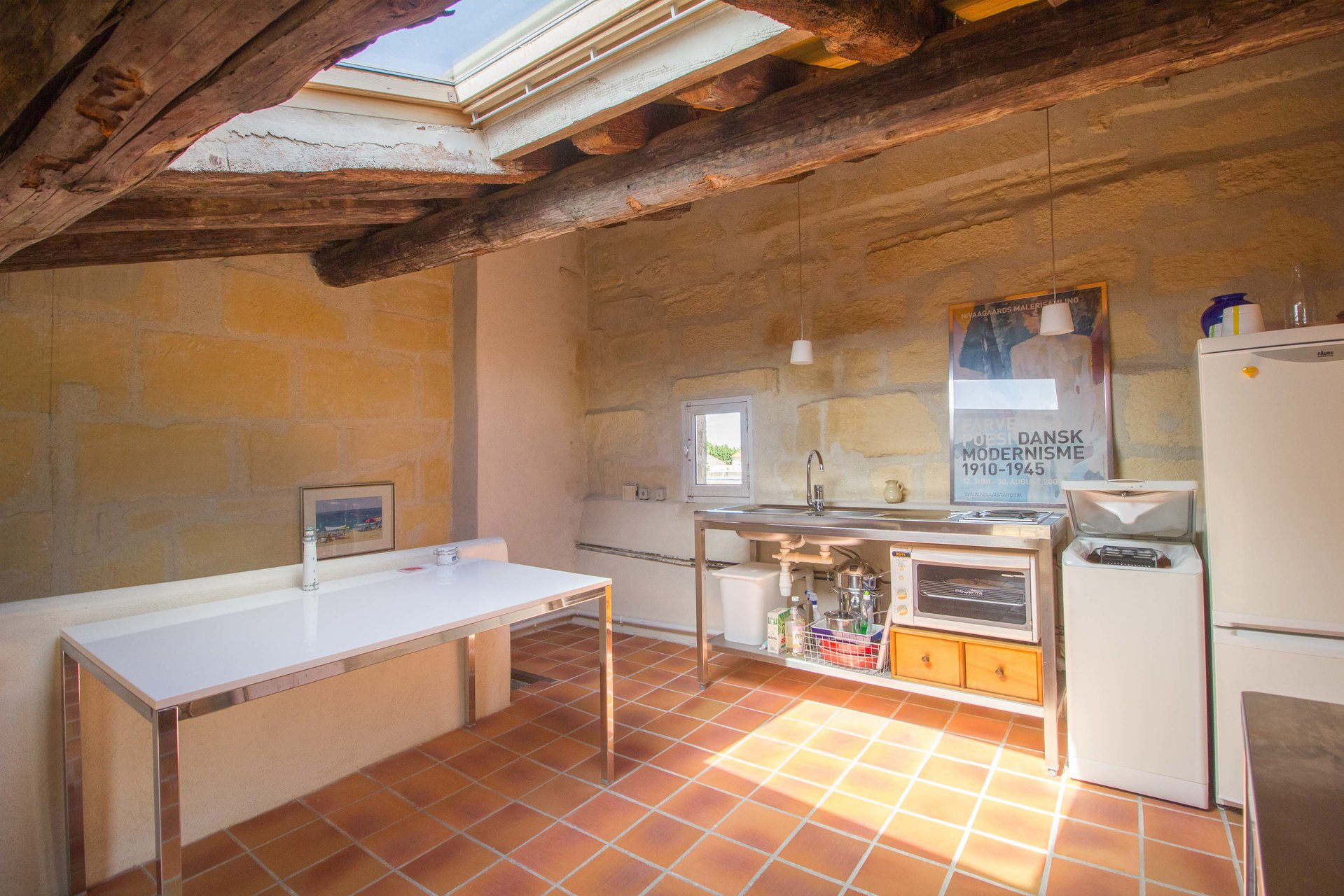 Charming town house of 60m² on three floors.