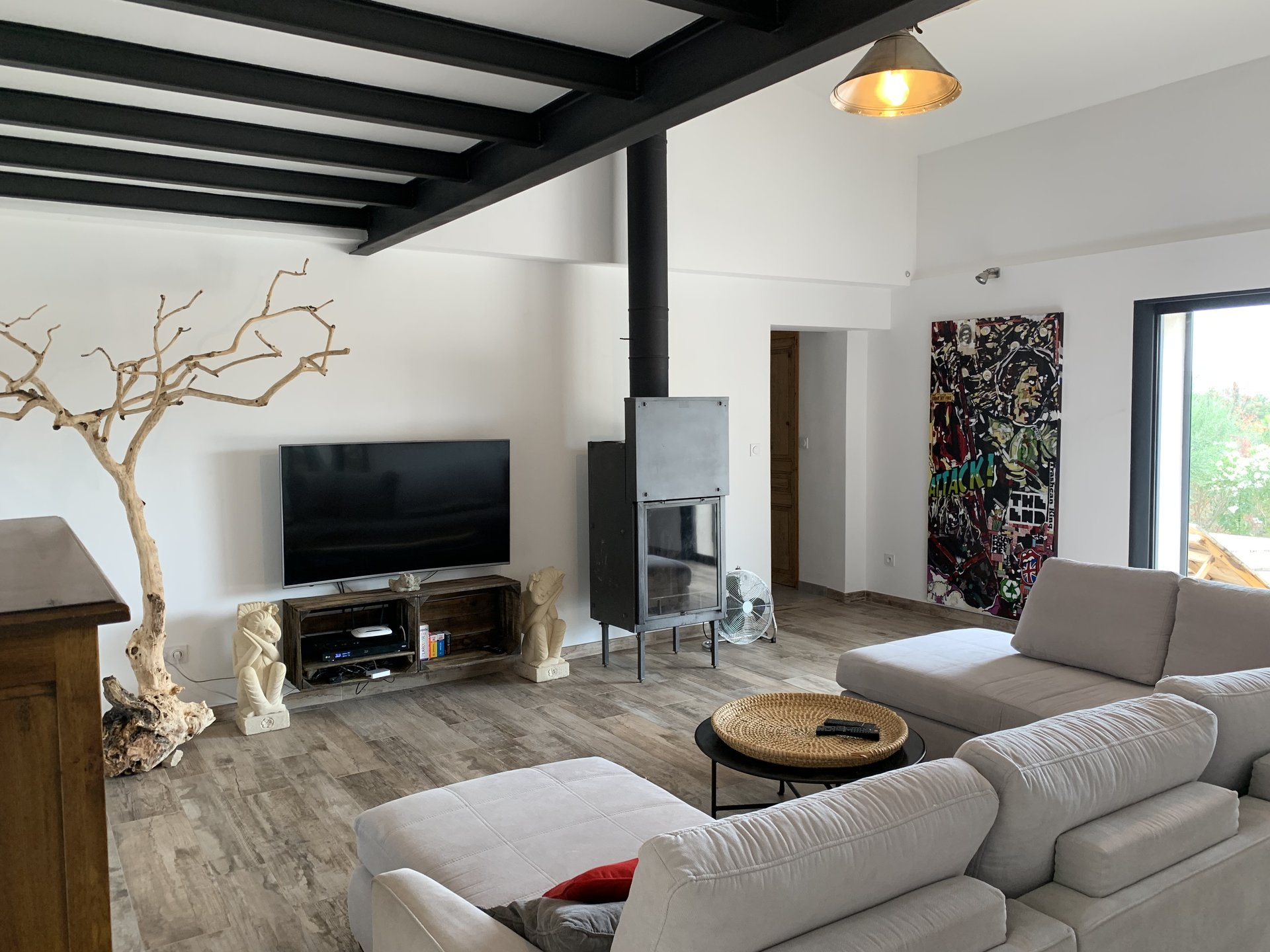 Cotignac, contemporary onelevel 210m house