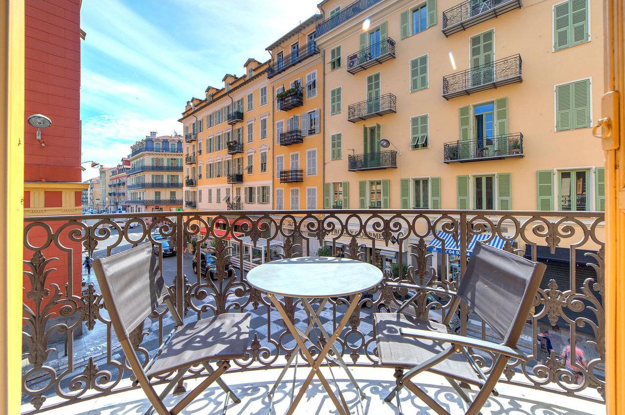 4P avec balcon - Nice Le Port