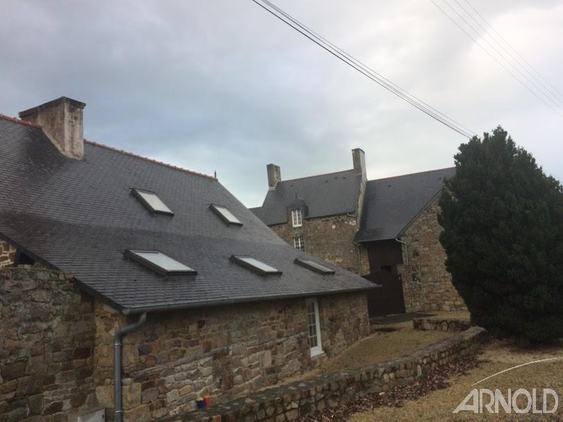 A vendre en Bretagne manoir et gîtes à 20 mn du Mont St Michel et de St Malo