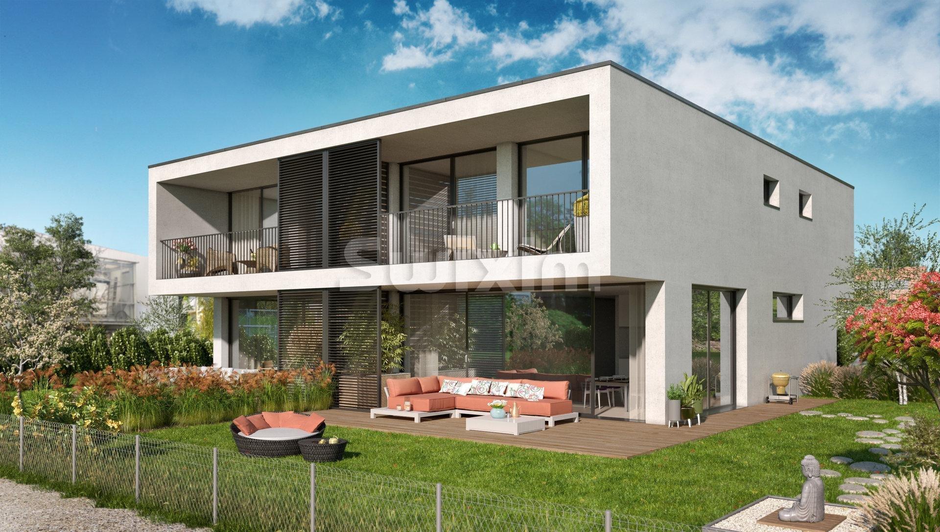 Lumineuse villa avec jardin - RESERVEE