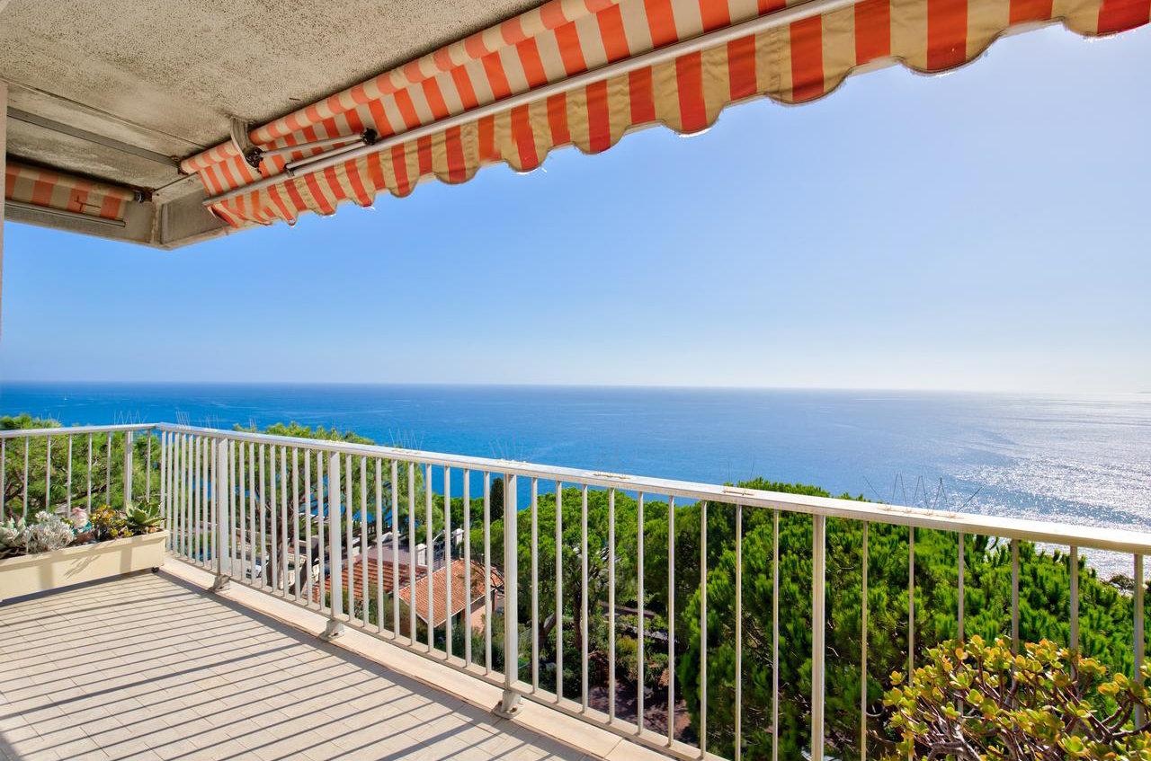 4P avec vue mer panoramique, garage - Nice Mont Boron