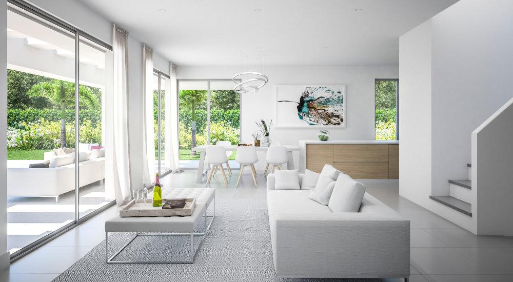 Moderne villa met 3 slaapkamers en een panoramisch uitzicht