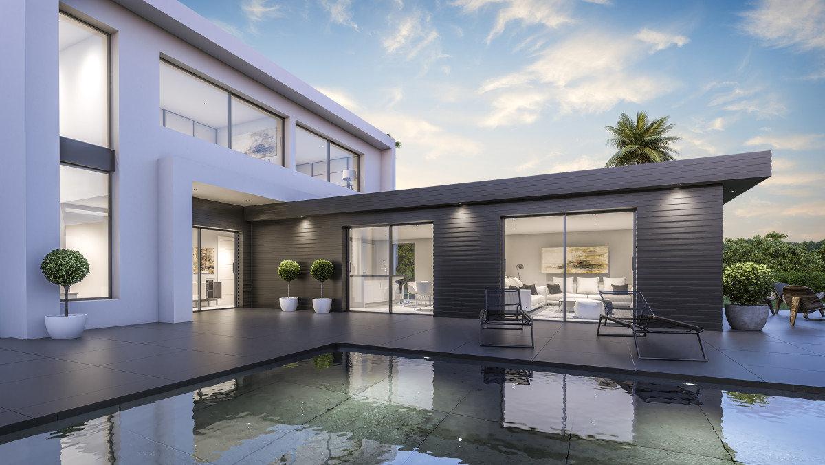 Villa moderne avec 3 chambres