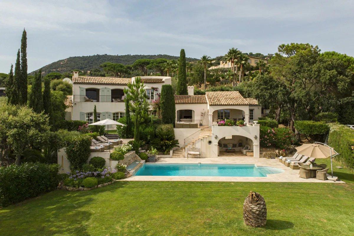 Domaine sécurisé avec vue Panoramique sur la mer et Saint Tropez