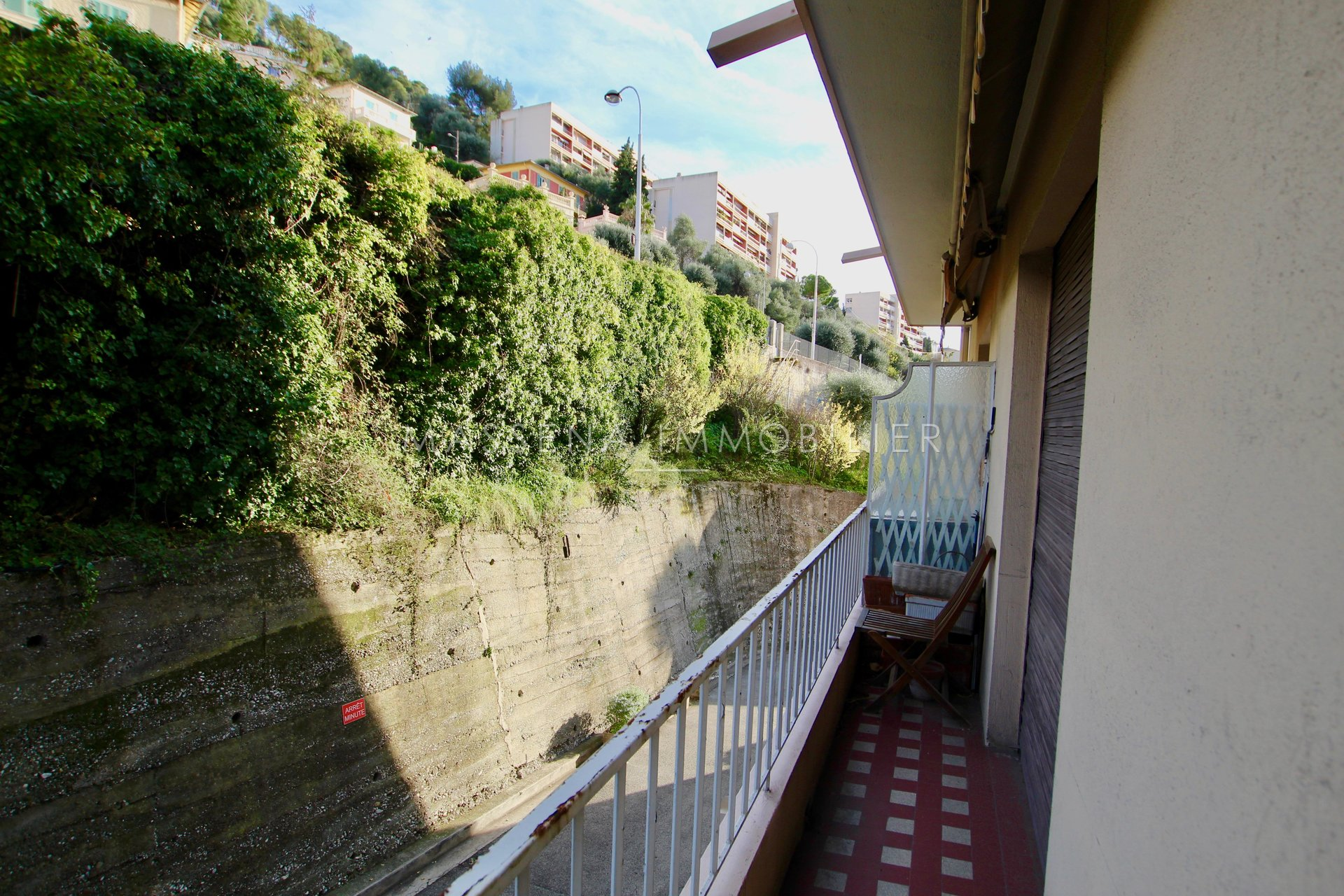 Nice Mont Boron - Large 1-bed apartment with balcony
