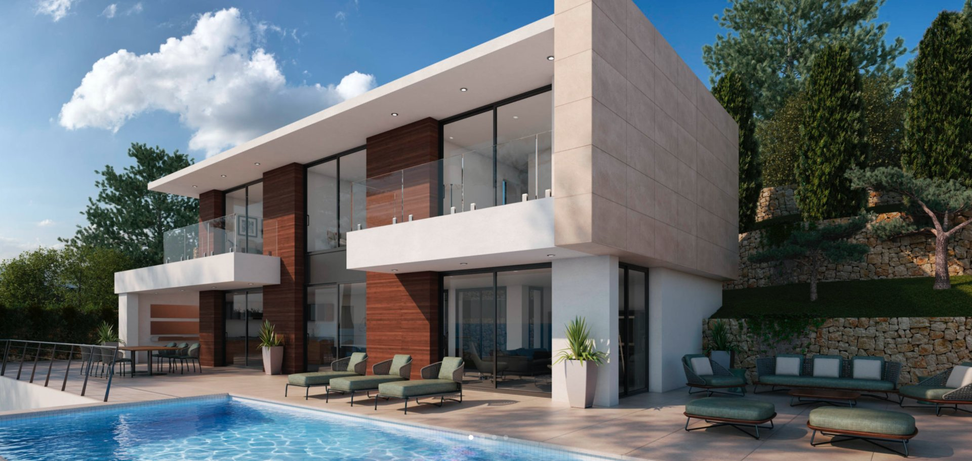 Exclusive Designer Luxury Villa with panoramic views