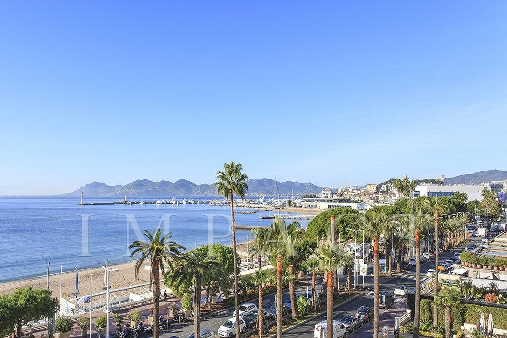 3 rooms apartment to rent with panoramic sea view - Cannes ,Croisette