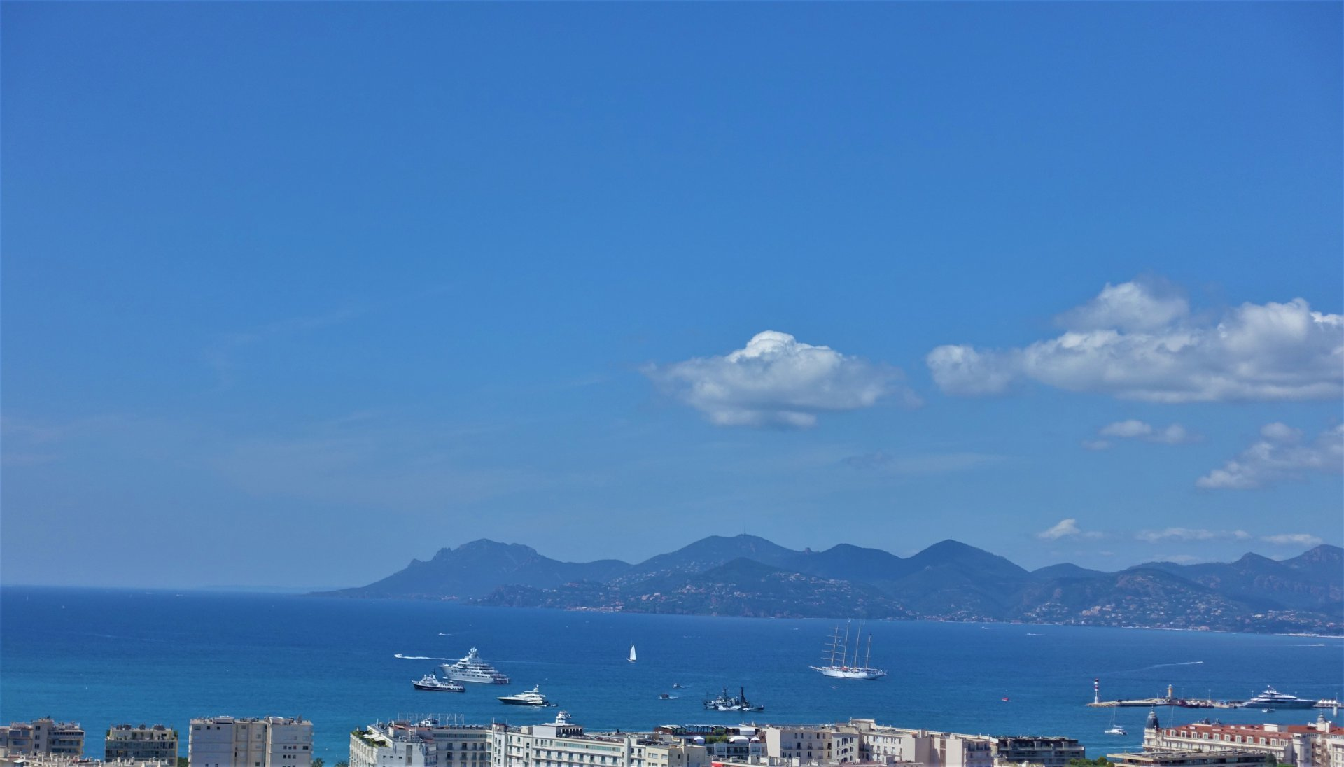 CANNES - LUXURY 4P APARTMENT FANTASTIC SEA VIEW