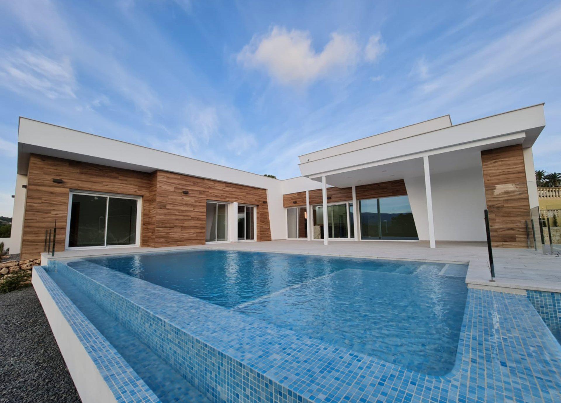 Luxe villa met één verdieping