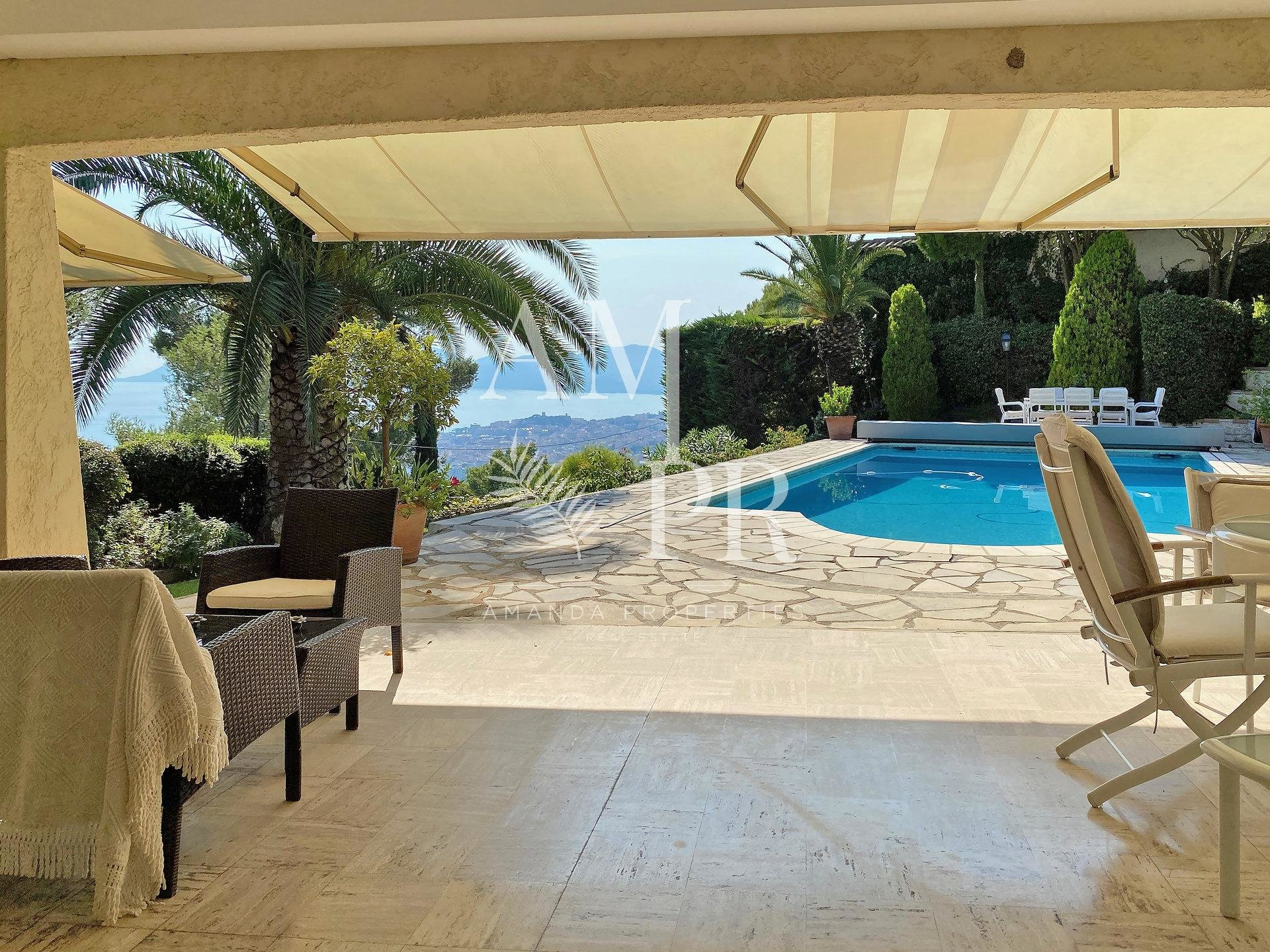 Villa - Panoramic sea view - Cannes