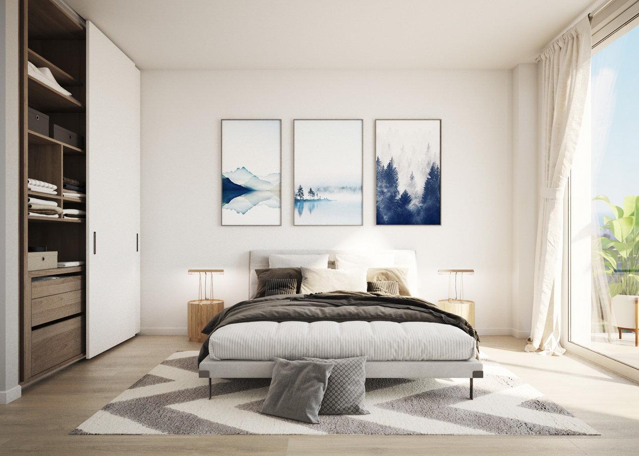 Appartement met 4 slaapkamers in nieuw wooncomplex