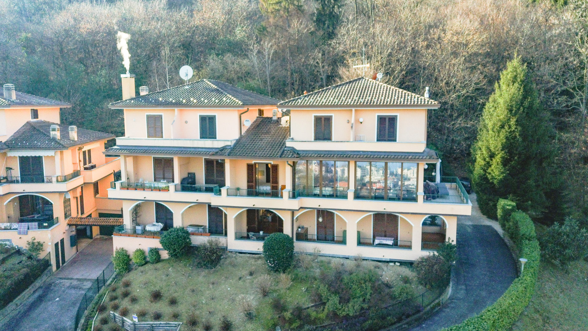 Apartment for sale in Stresa inside a complex