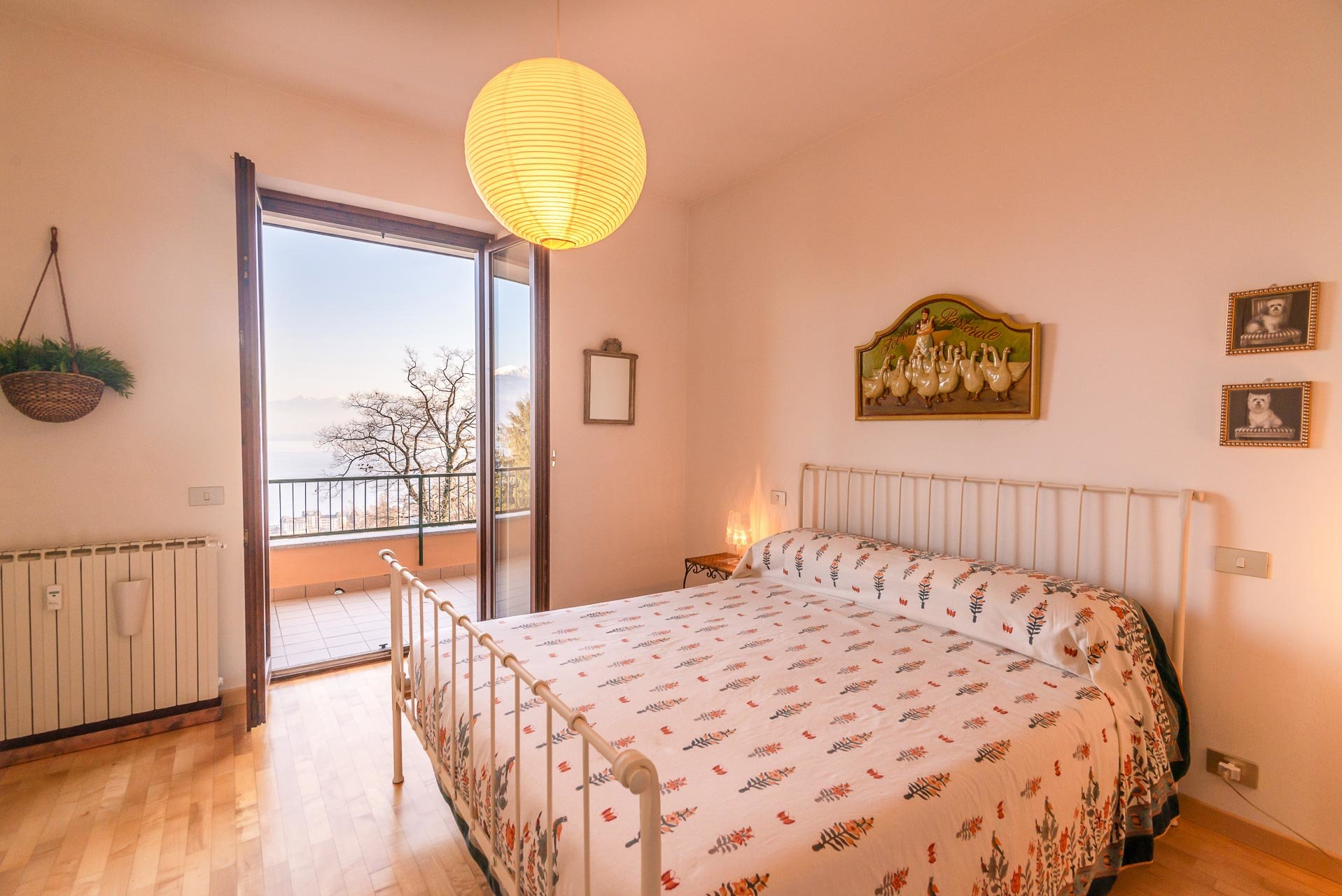 Apartment for sale in Stresa in a residence - master bedroom