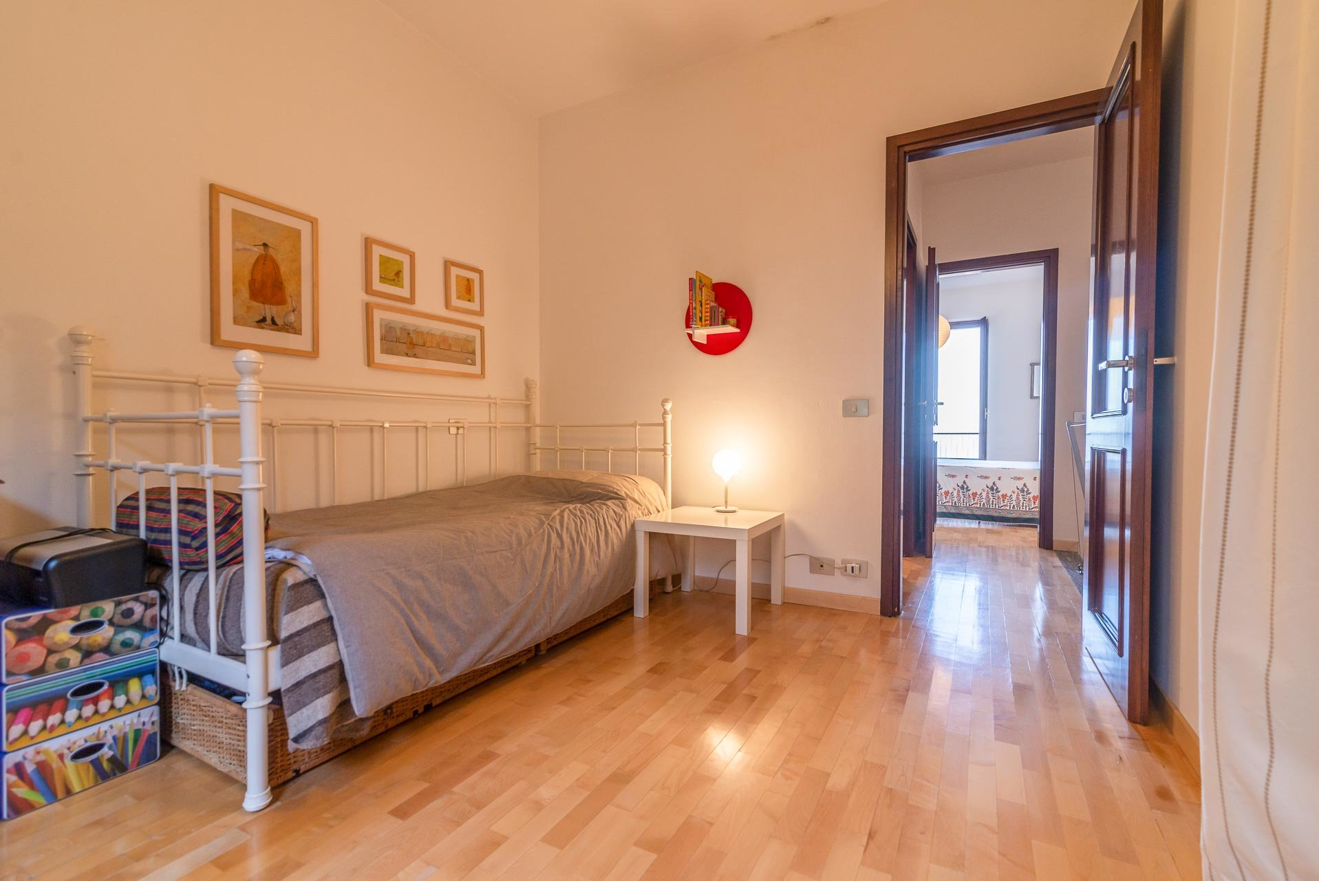 Apartment for sale in Stresa in a residence - bedroom