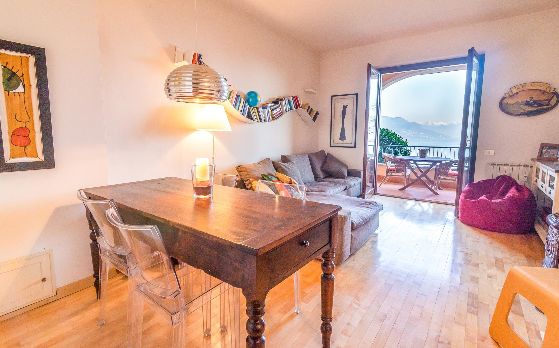 Apartment for sale in Stresa in a residence - living room