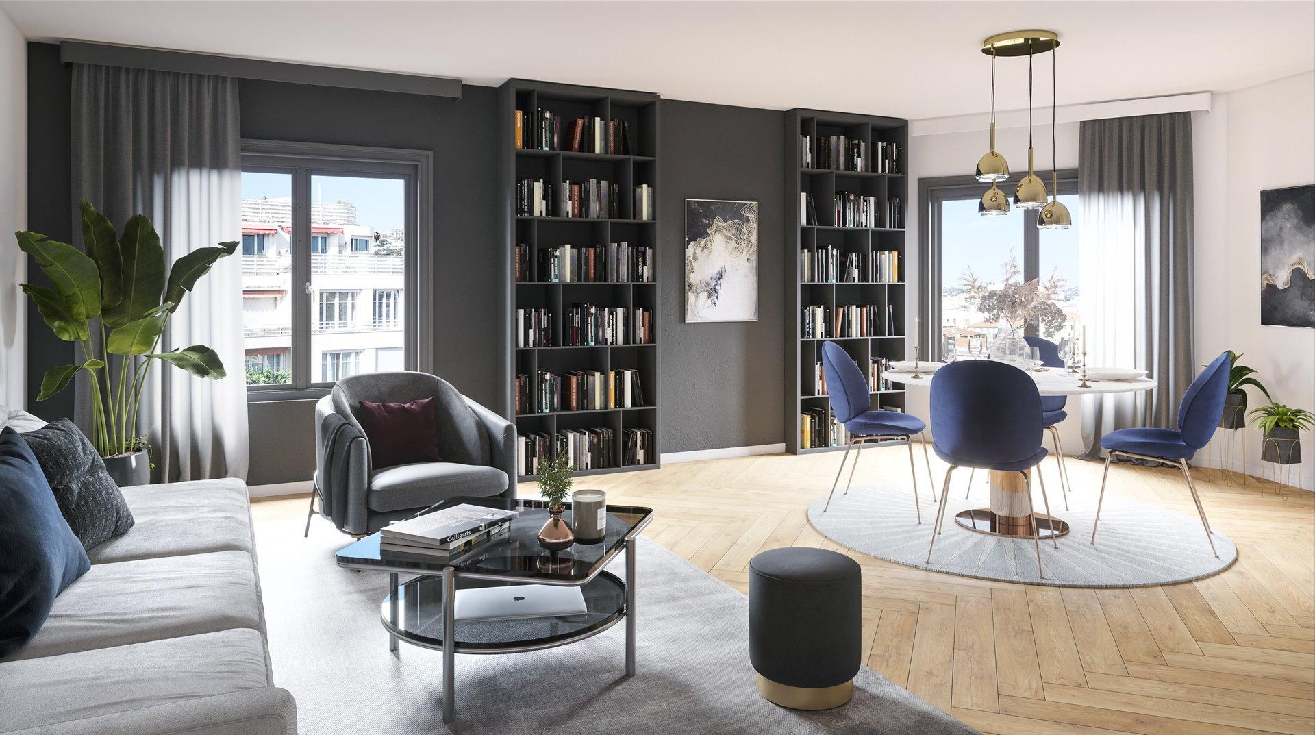 Sale Apartment - Nice Gambetta