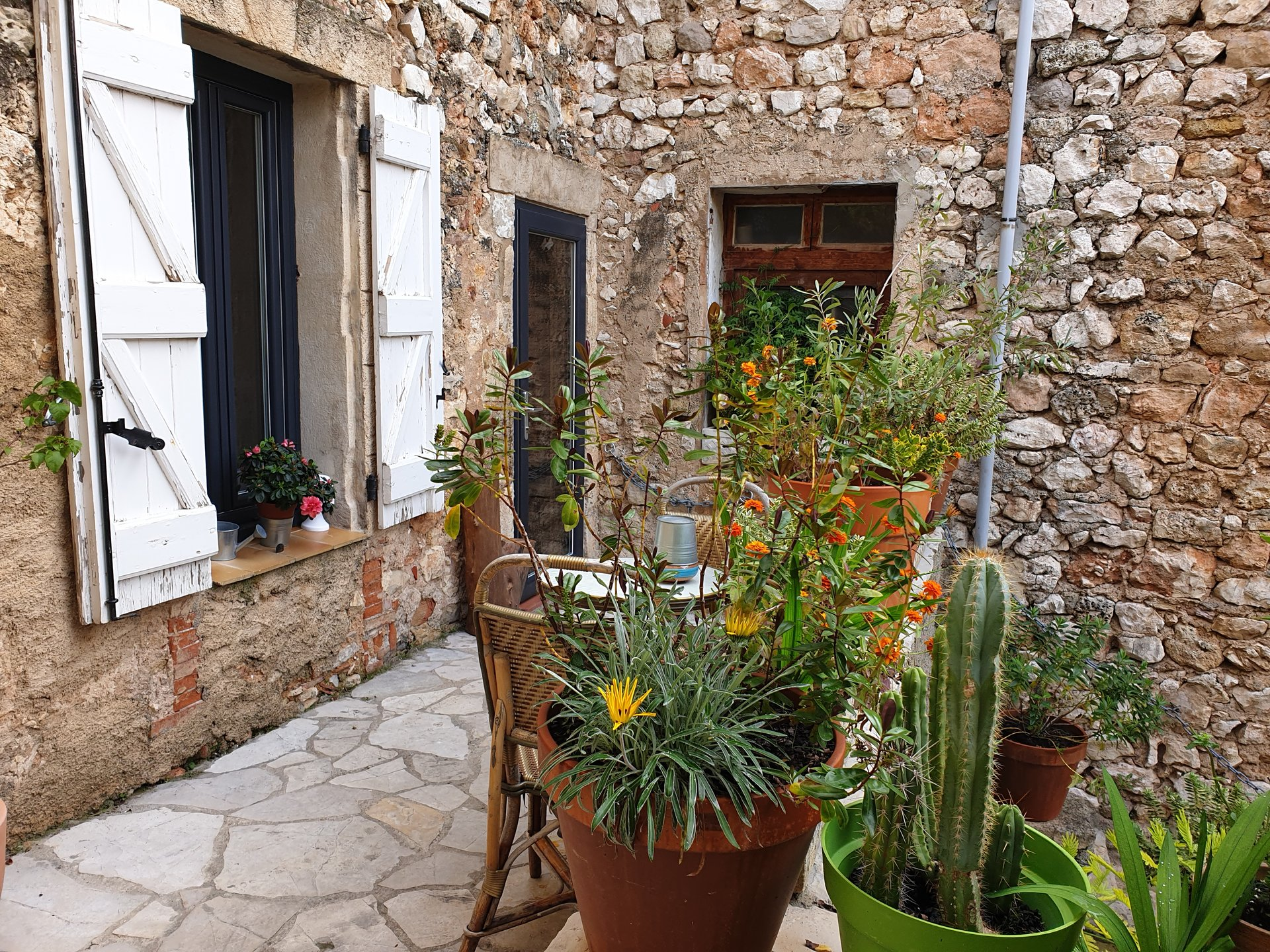 SO CHARMING stone town house with outside spaces AMAZING VIEW