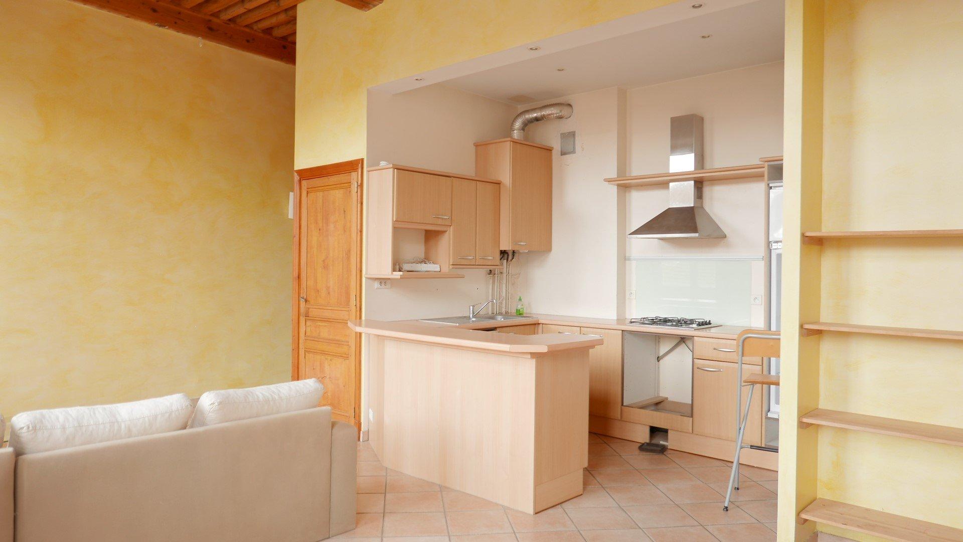 Location Appartement Surface de 50.35 m², 2 pièces, Lyon 4ème (69004)