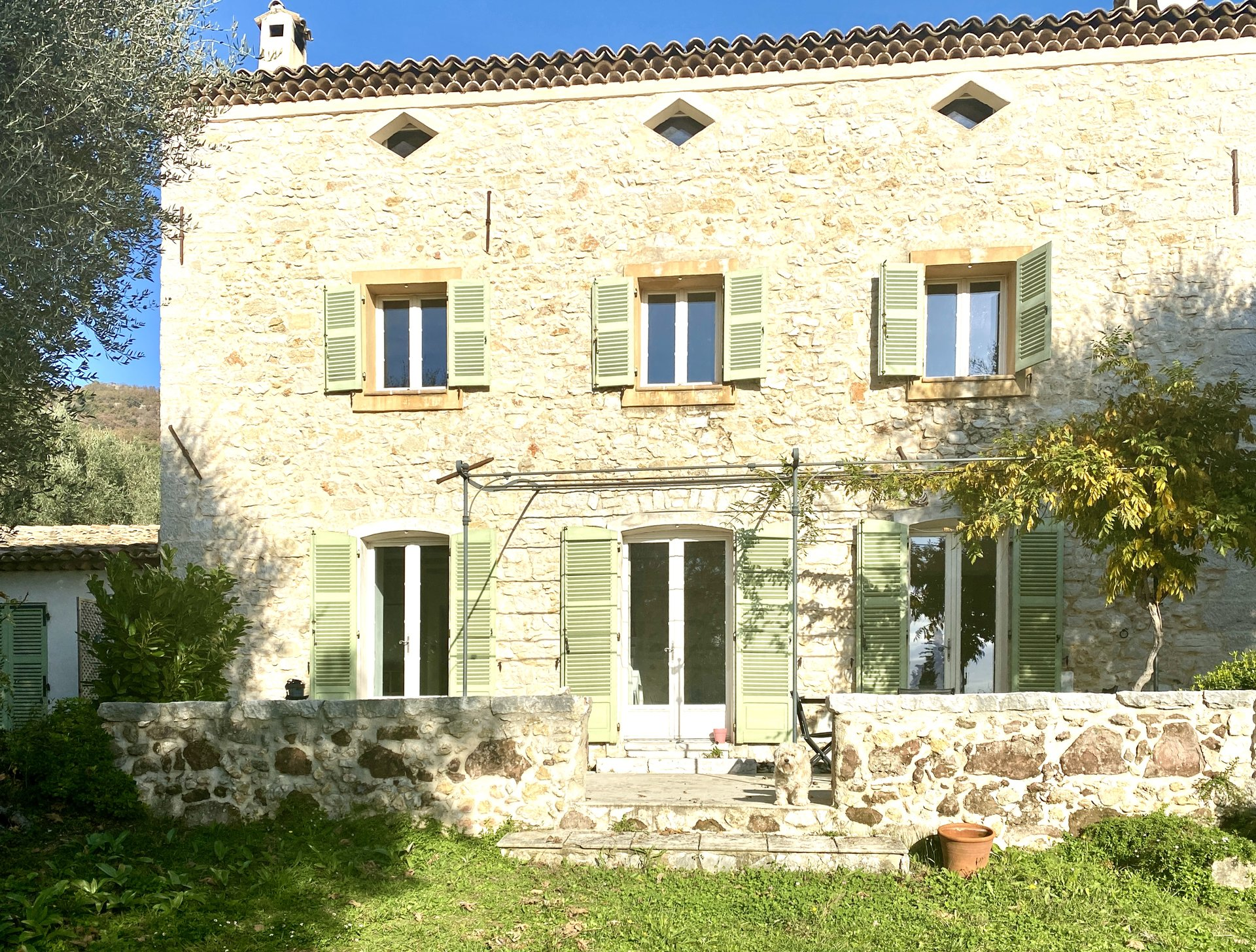 On the french riviera amazing Bastide Provencal in the Poch area of Vence ,  Saint Paul de Vence