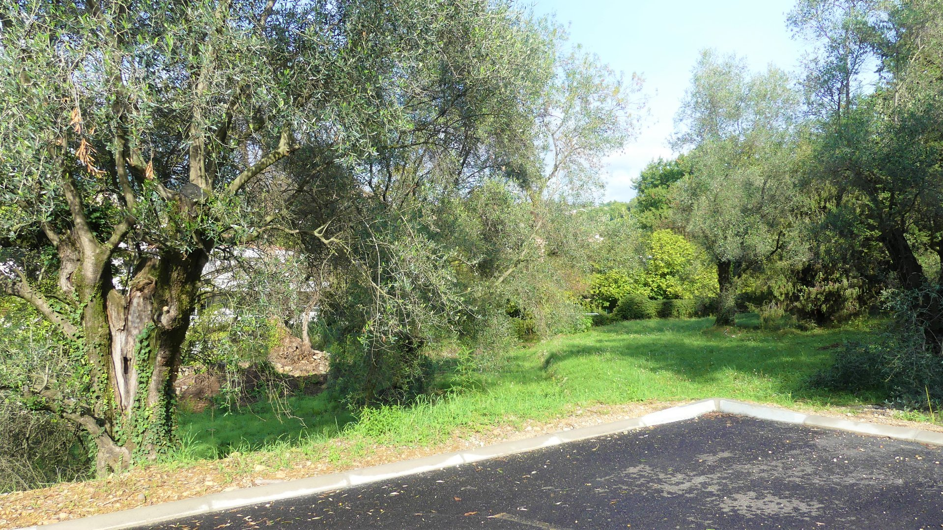 Building plot 1000 m² serviced and quietly