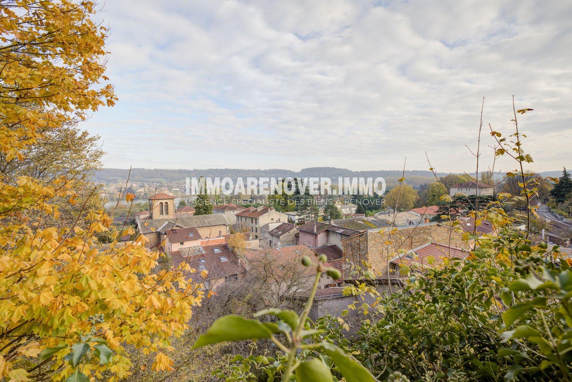 Albigny sur Saône, face à Neuville, T2 bis très lumineux