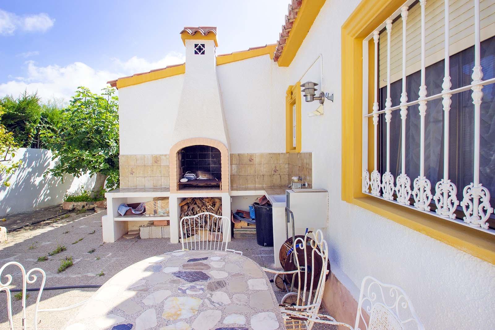 Cosy villa on one floor