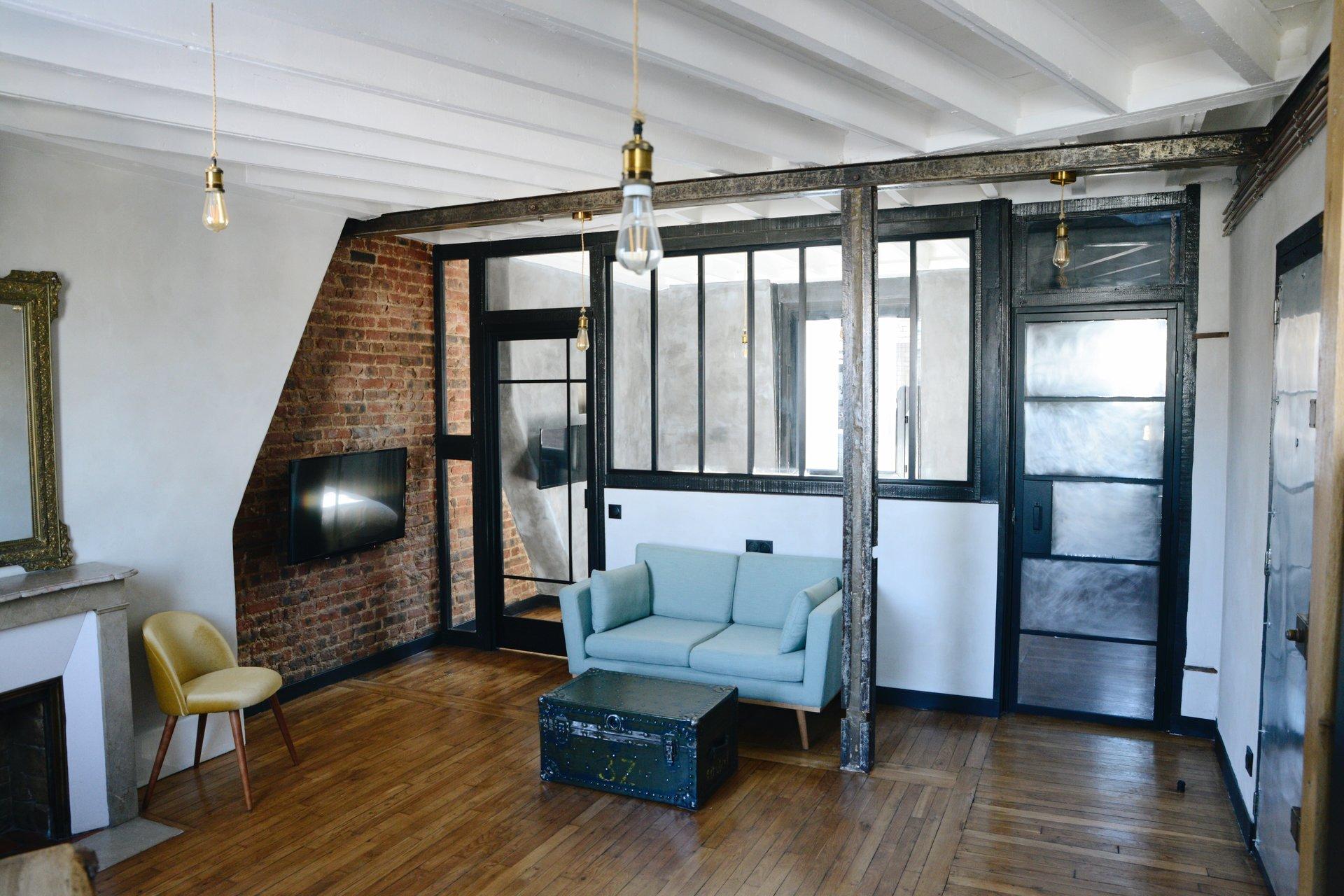 2 pièces d'exception - Dernier étage - Lamarck-Caulaincourt