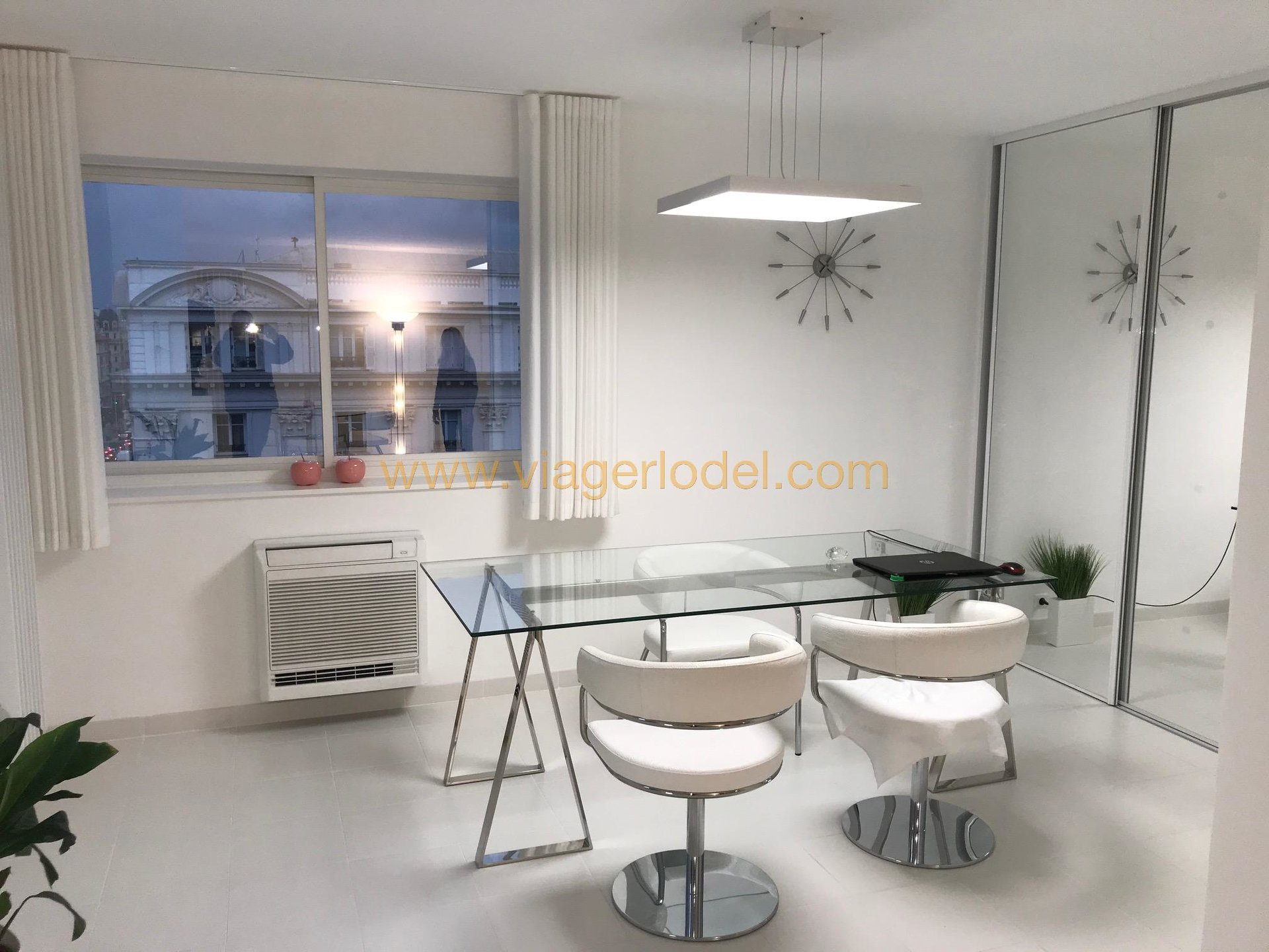 VIAGER OCCUPE - NICE CENTRE-VILLE – NICE ETOILE