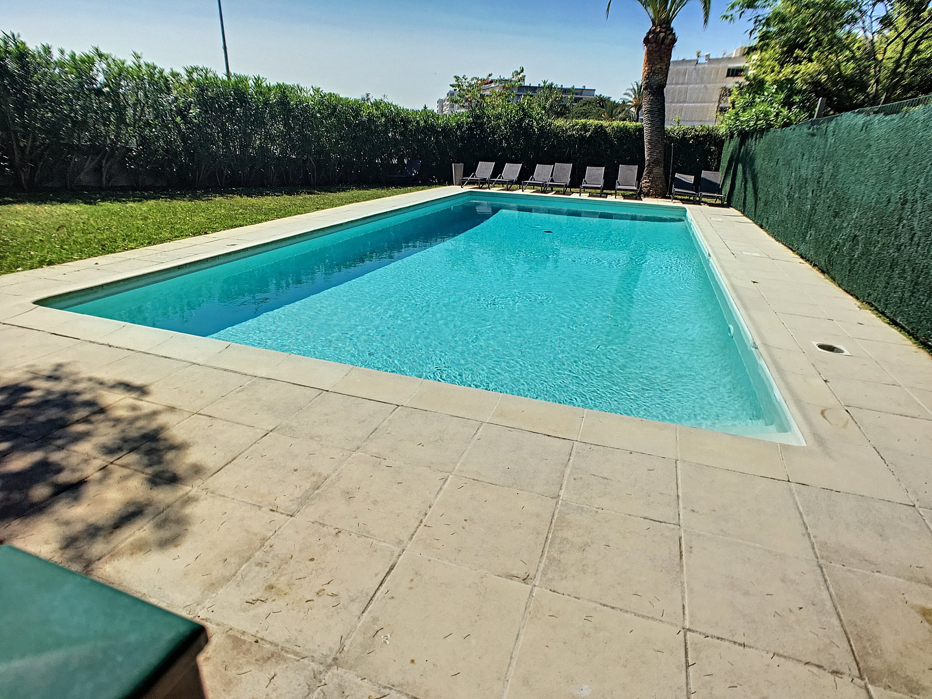3 rooms with large garden, pool and quiet - Cannes Montfleury
