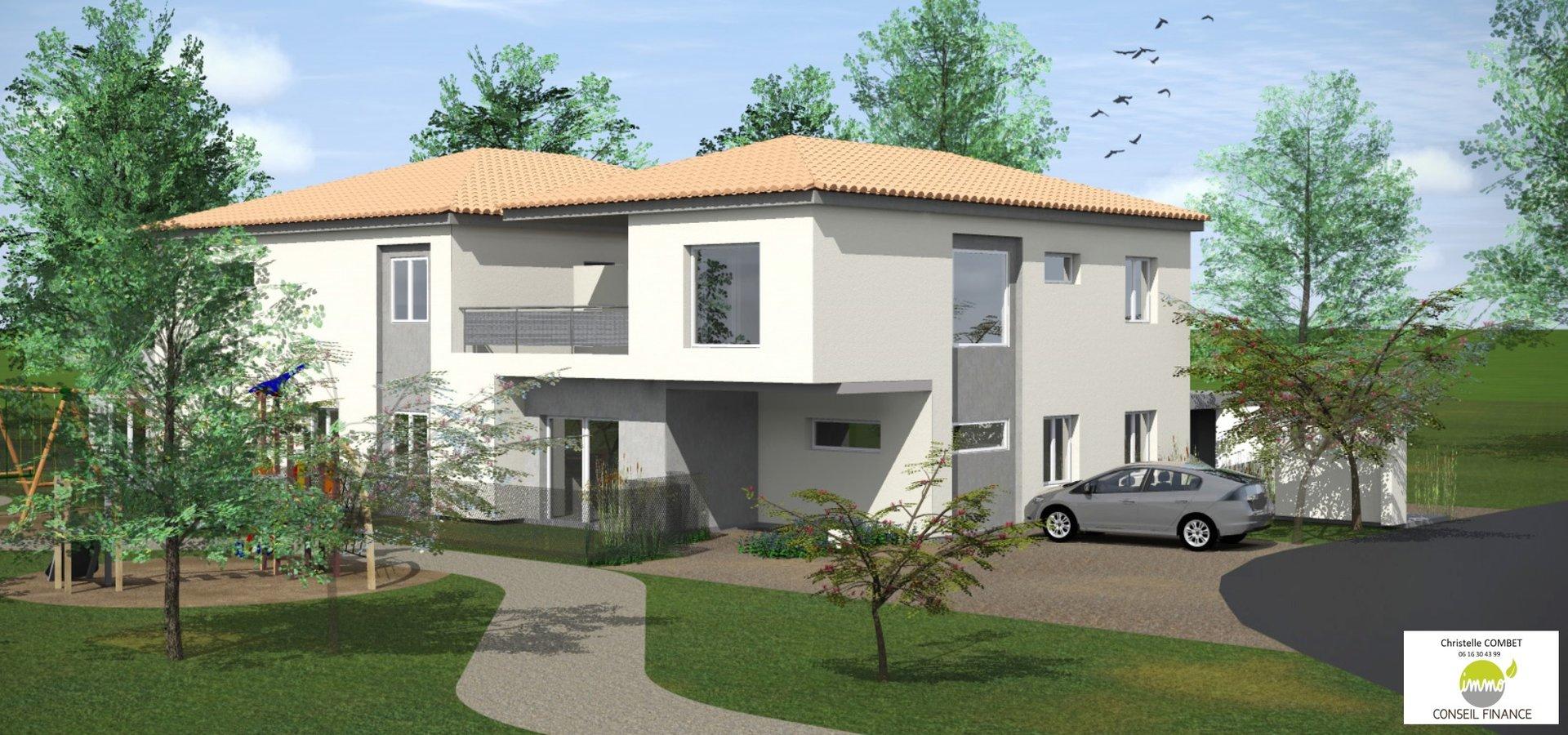 Nouvelle résidence de seulements 6 appartements