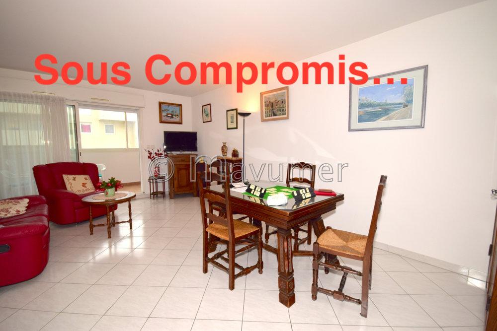 Appartement T3 avec terrasses et garage 13006 Marseille
