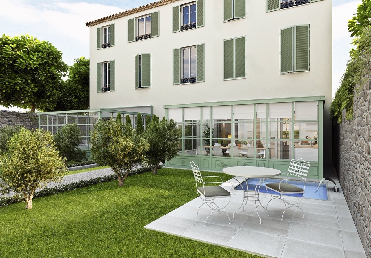 VIEIL ANTIBES EXCEPTIONAL PRODUCT - GROUND FLOOR WITH 2 BEDROOMS OF 65 M2
