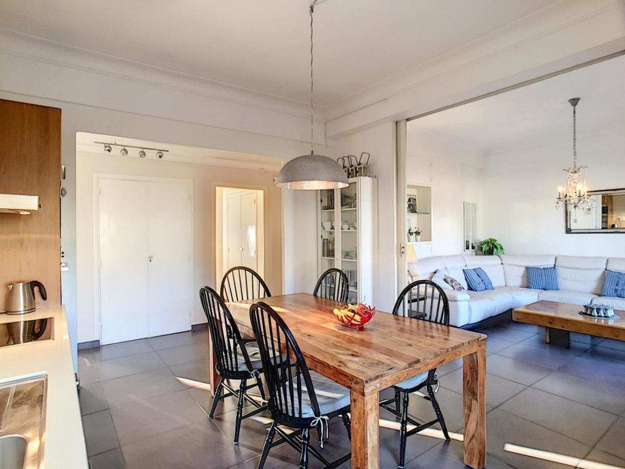 VENTE Appartement 4P 87m² Nice Proche Port Balcons Étage Élevé