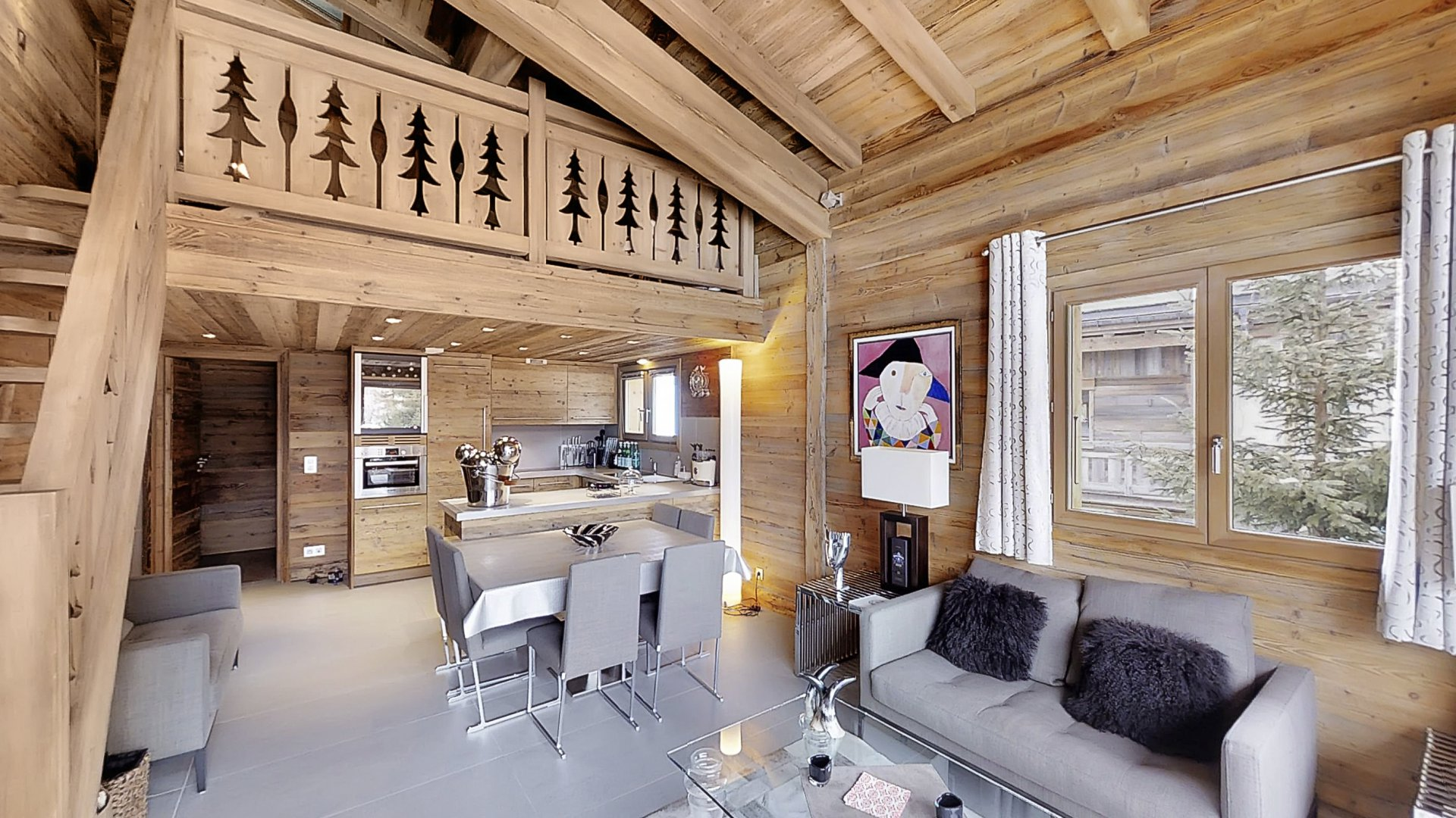 Flannel Apartment Chalet in Megeve