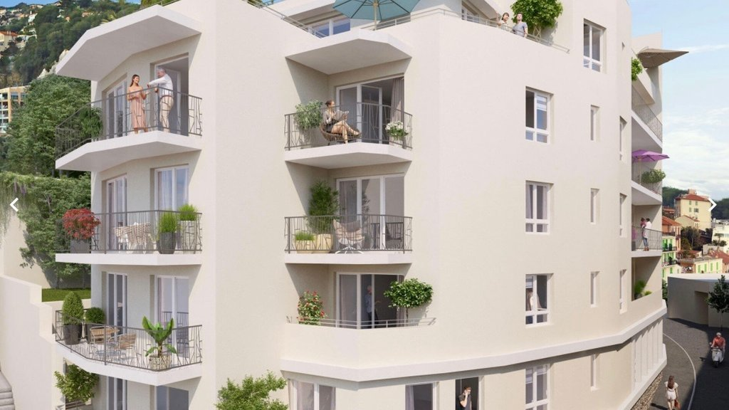 BEAUSOLEIL - Frecnh Riviera - newly 3 Bed - Top floor - Sea view and large terrace