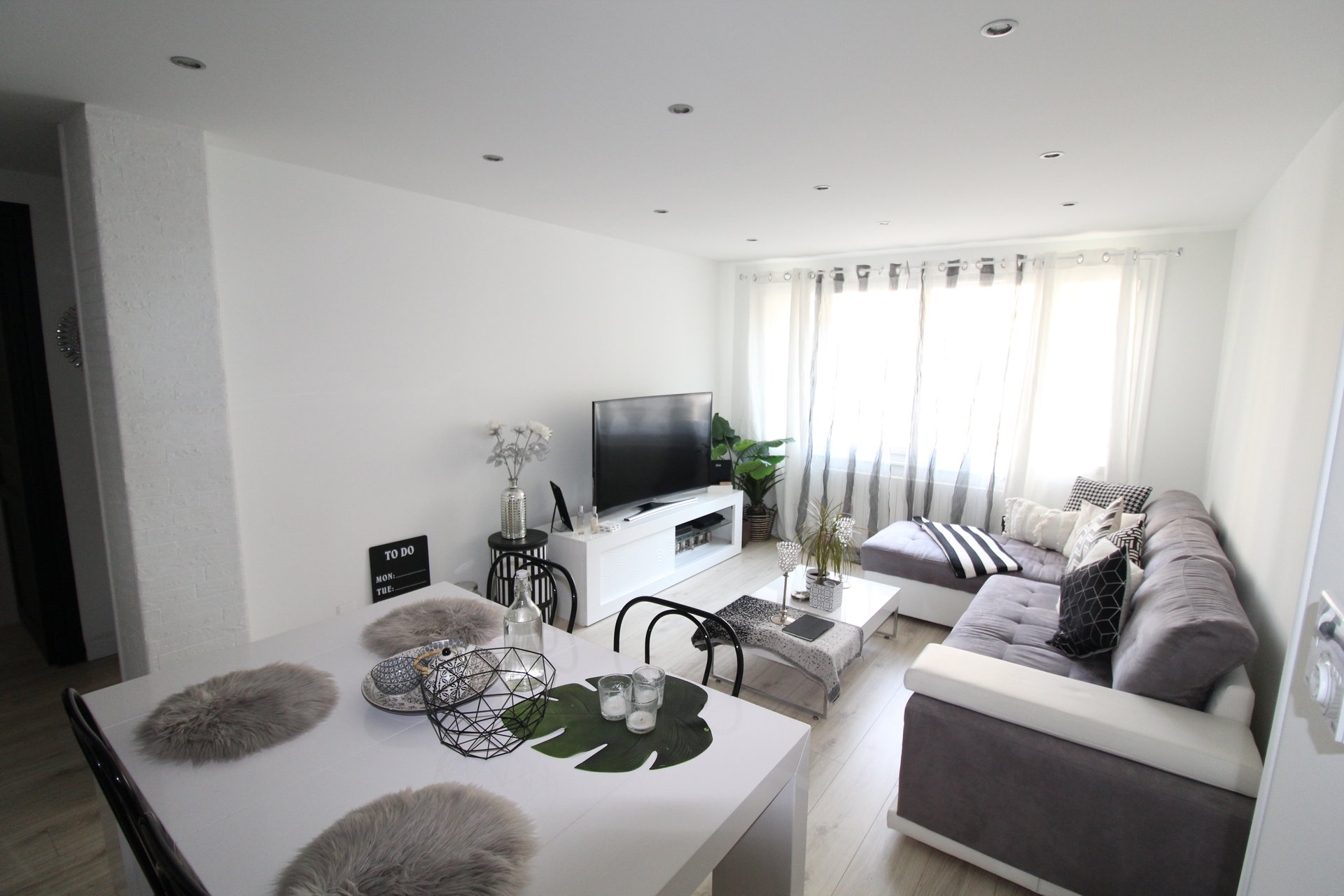 Appartement Saint-etienne Bergson T4 64m2