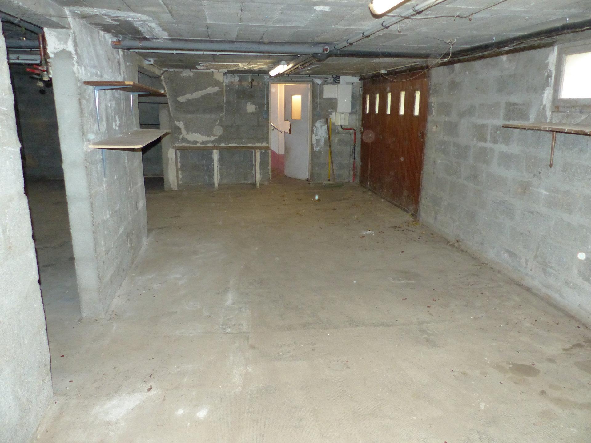 Centre village sous sol total 3 chambres sur 1316m2