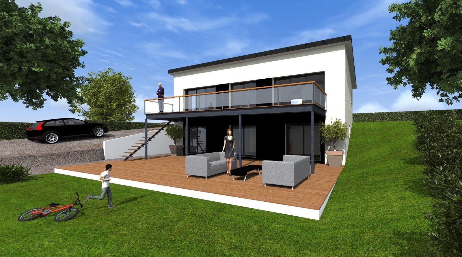 2 mn de Daoulas Maison neuve  à finir 160 m²  budget 250 000 € fini