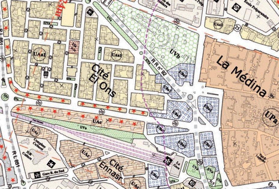Terrain constructible R+6 centre ville