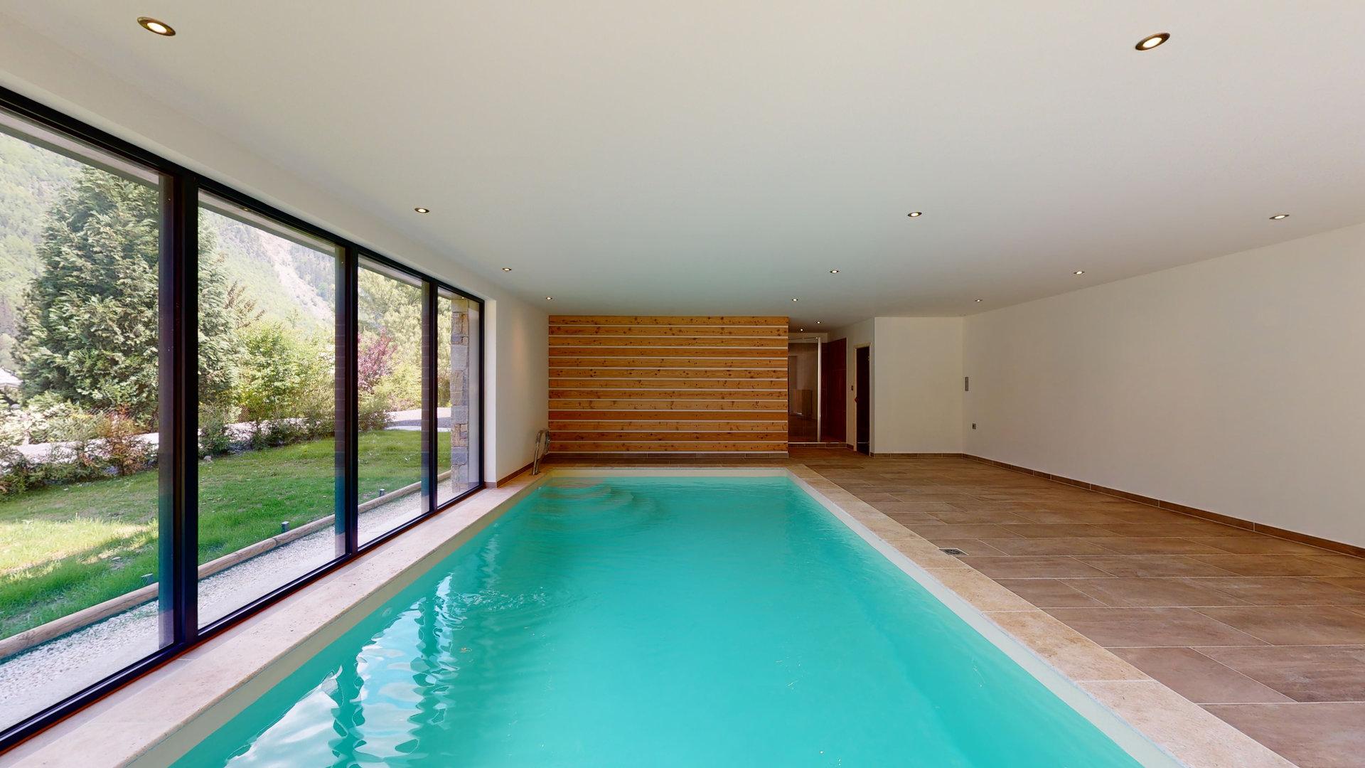 Nuovo chalet, 4 camere con bagno privato, Les Houches