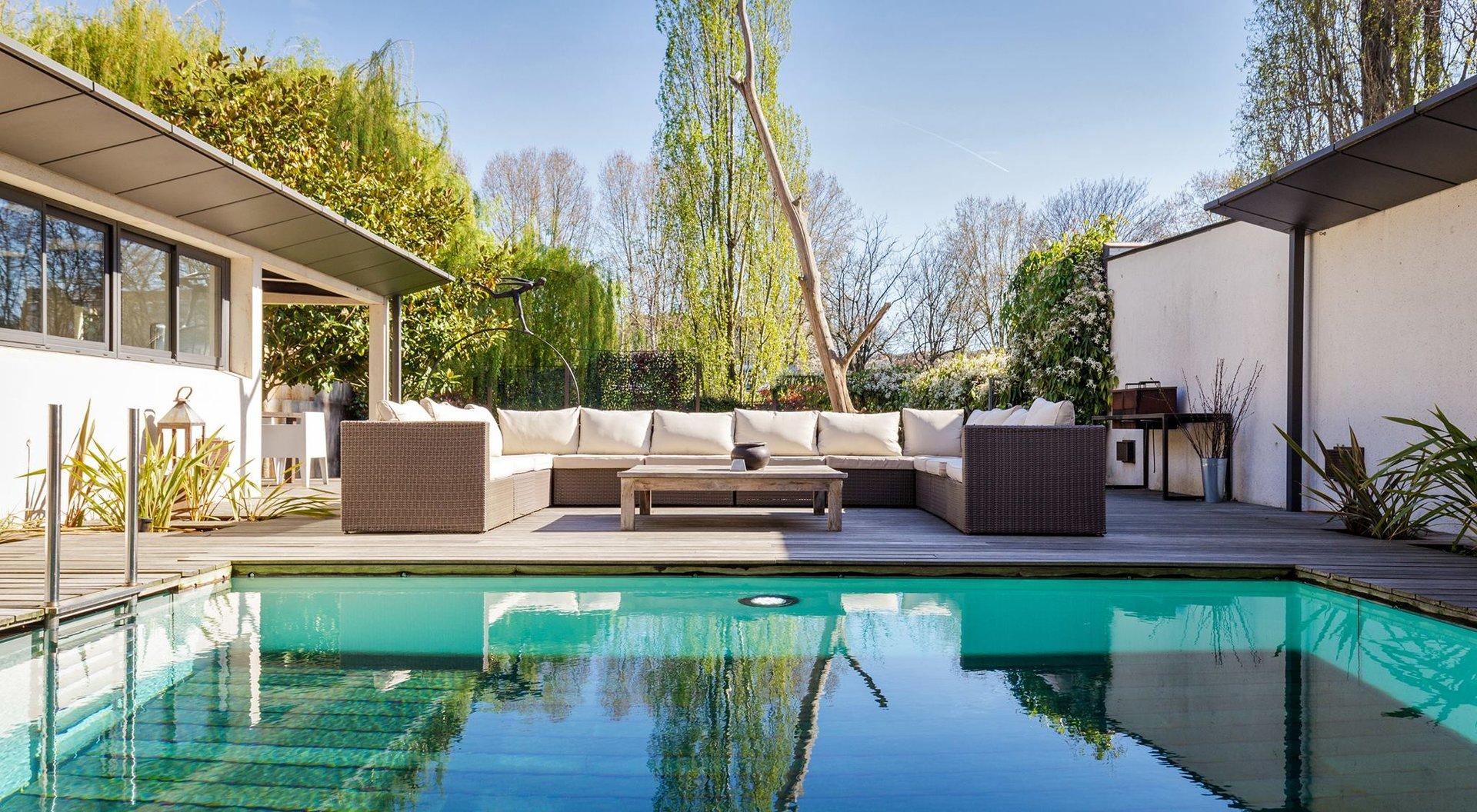 Vente / Achat Villa avec piscine et jardin aux portes de Paris à Issy les Moulineaux -